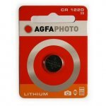 CR1220 3V Lithium Button Cell AGFAphoto 1 pcs