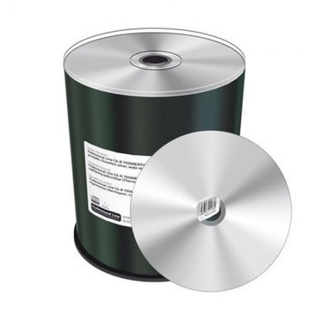 CD-R Mediarange 52x Professional Line FF Thermal Silver Tarrina 100 uds