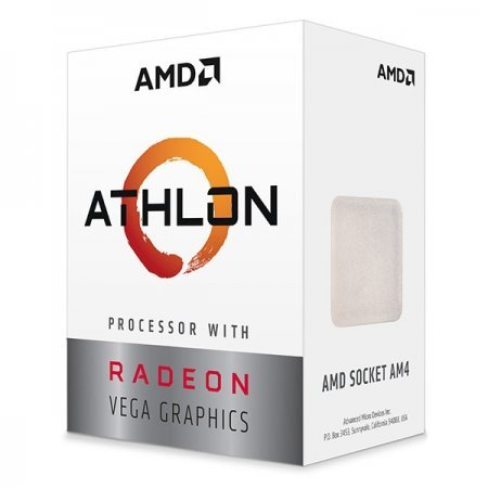 CPU APU AMD Athlon 200GE Radeon Vega 3 3.2GHz 5MB AM4