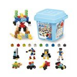 Juguete educativo Artec Blocks Bucket 112 Colores vivos