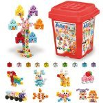 Juguete educativo Artec Blocks Bucket 220 Colores pastel