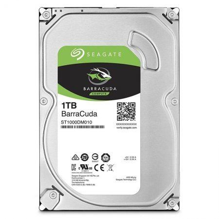 3.5 Disco Duro 1TB Seagate BarraCuda ST1000DM010 7200RPM 64MB 6GB/S