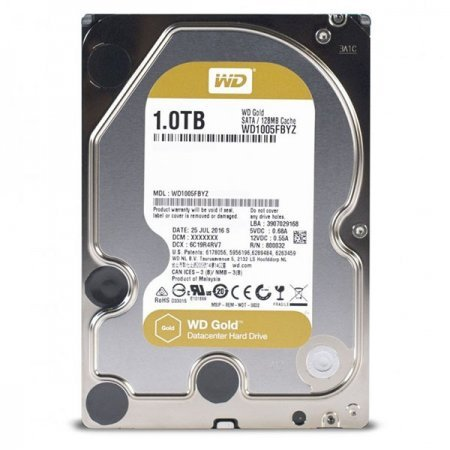 3.5 Disco Duro 1TB Western Digital Gold Raid Edition