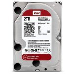 "Disco NAS 2TB WD Red PRO 3.5"" 6Gb/s 64Mb 7200rpm"
