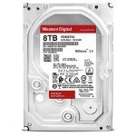 "Disco NAS 8TB WD Red 3.5"" 6Gb/s 256Mb 5400rpm"