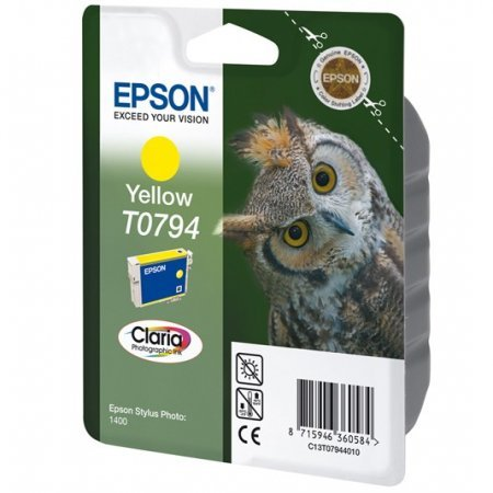 Epson T0794 Original Ink Cartridge Yellow