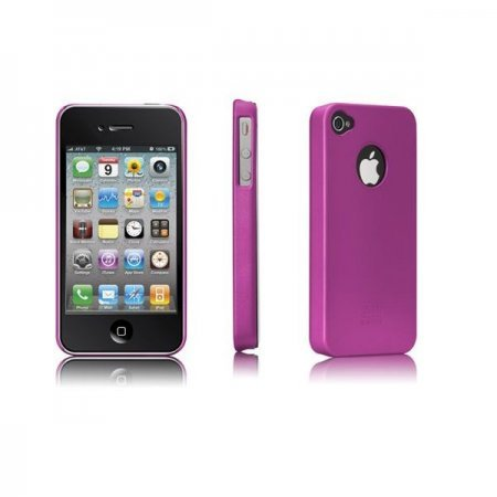 iPhone 4 HardCase Barely There Pink - Case Mate