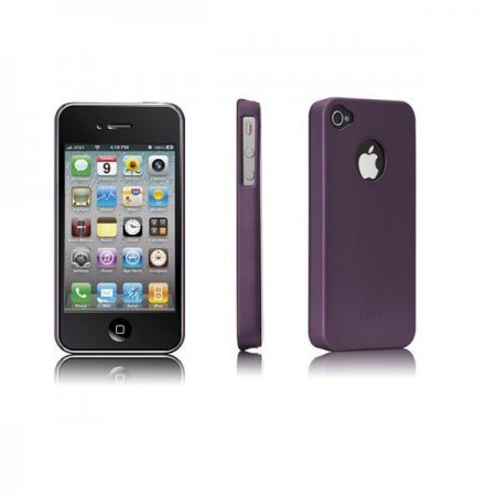 iPhone 4 HardCase Barely There Purple - Case Mate