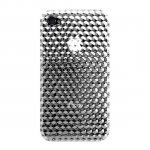 iPhone 4 DesignCover Hex3D Clear - Katinkas