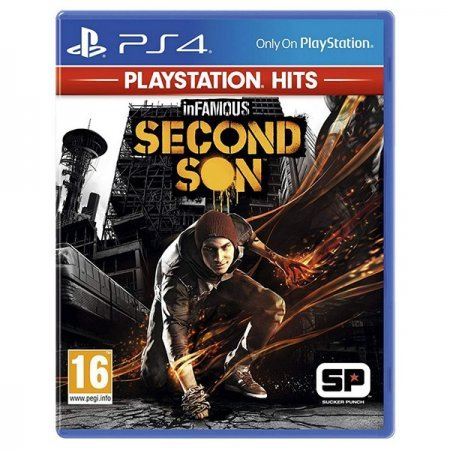 PS4 Juego inFAMOUS Second Son PS HITS