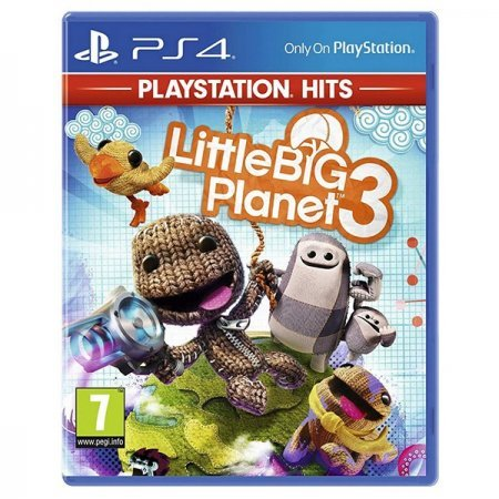 PS4 Juego LittleBigPlanet 3 PS HITS