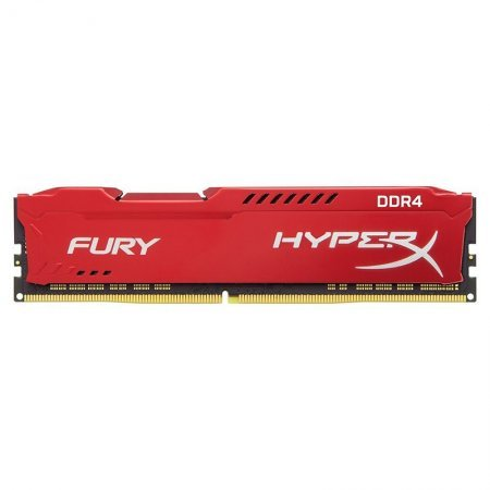 Memoria Kingston HyperX FURY 8GB DDR4 2133MHz Roja