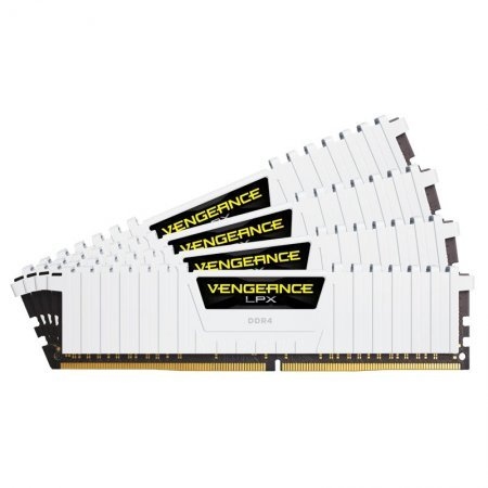 Kit Memoria Corsair Vengeance LPX 32GB DDR4 2666MHz (4x8GB) Blanco