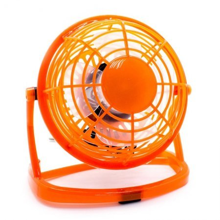 Mini Ventilador USB Cool Naranja