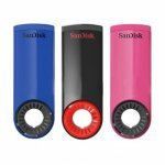 Pendrive 16GB Sandisk Cruzer Dial (3 unidades)