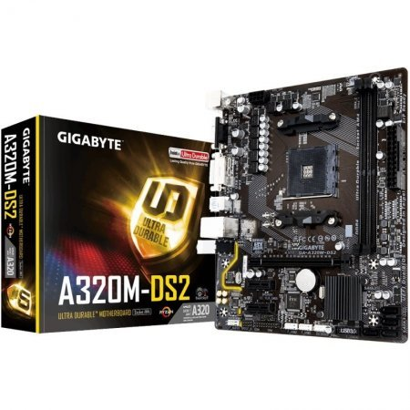 Placa Base Gigabyte A320M-DS2 mATX Socket AM4