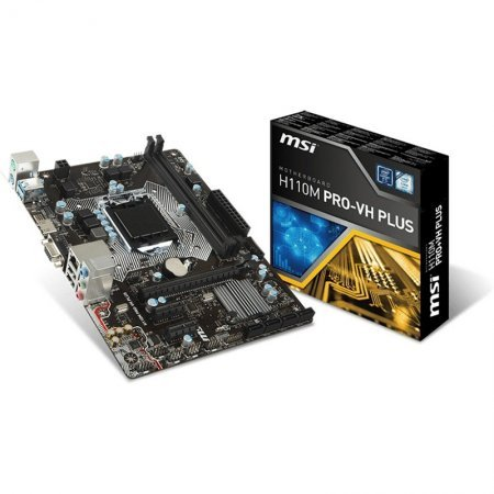 Placa Base MSI H110M PRO-VH Plus mATX Socket 1151