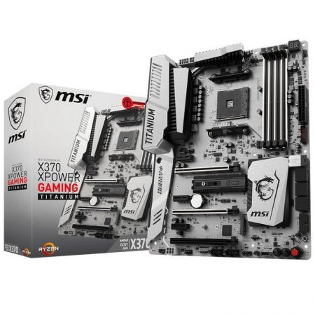 Placa Base MSI X370 XPower Gaming Titanium ATX Socket AM4