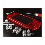 PSP 3000 Face Plate Crystal Red (XCM)