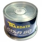 CD-R Traxdata 52X 700MB Cake 50 pcs