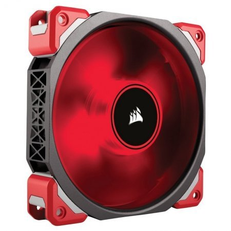 Ventilador PC Corsair ML120 Pro 120mm Levitación Magnética LED Rojo