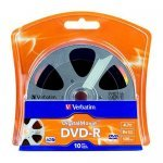 DVD-R 16x Verbatim DigitalMovie Blister 10 uds